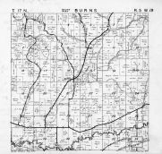 Burns Township South, La Crosse River, La Crosse County 1954